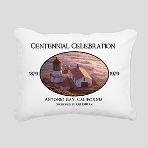 Antonio Bay Rectangular Canvas Pillow